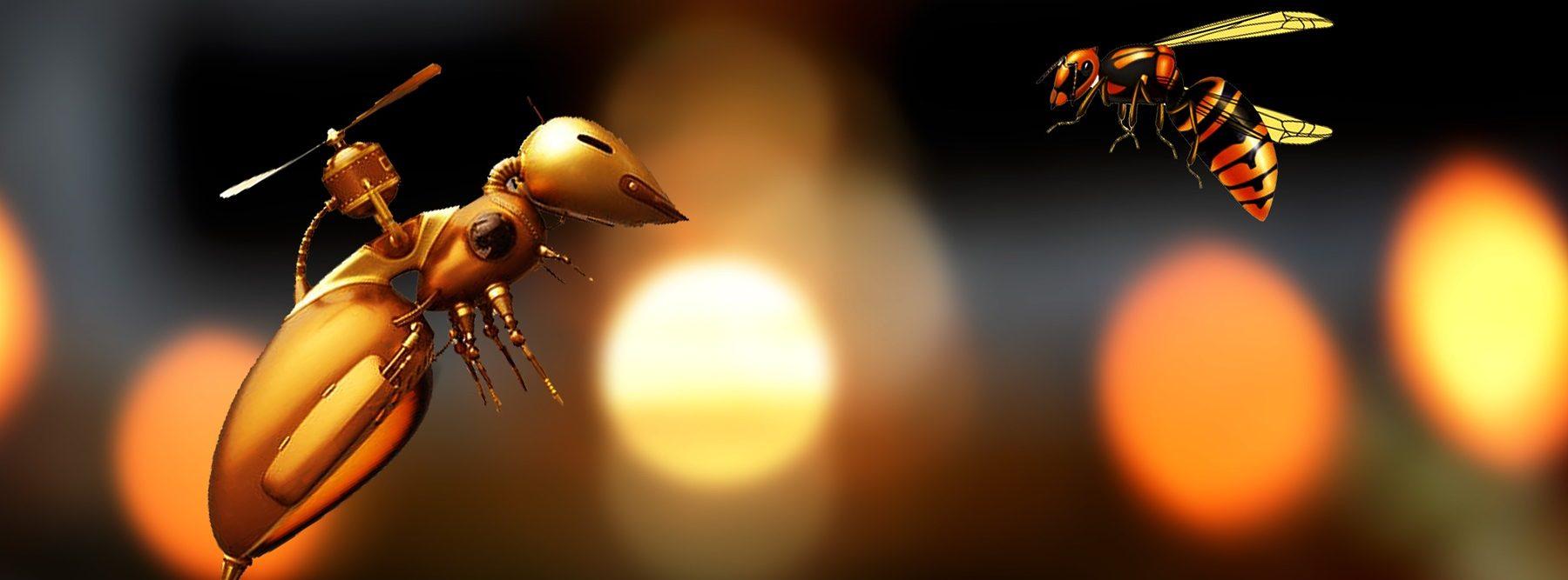 Las abejas robot podrían ser el futuro de la polinización