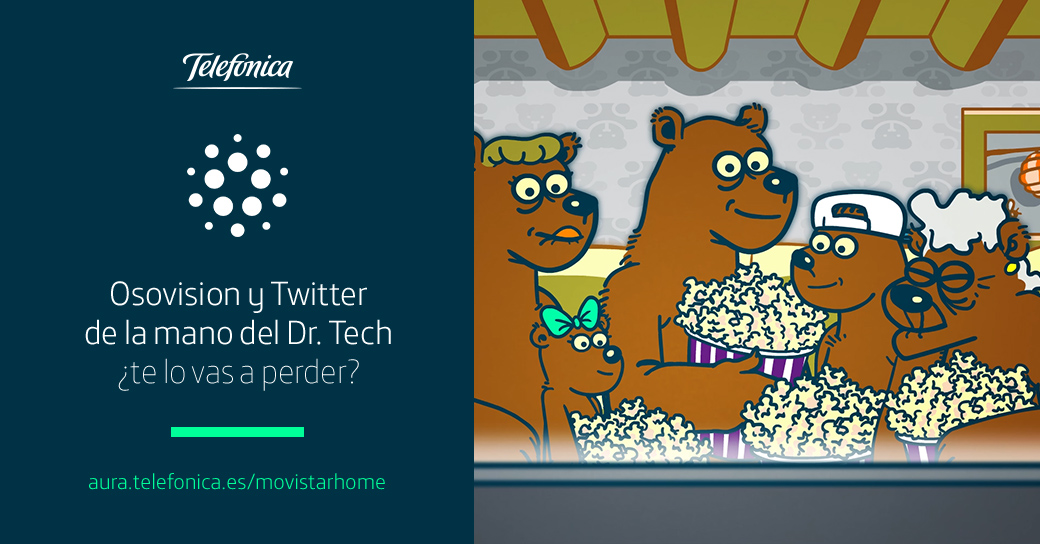 El Dr. Tech muestra la nueva funcionalidad de Twitter en Movistar Home