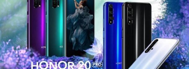 Honor presenta su nueva gama: Honor 20 y Honor 20 Pro