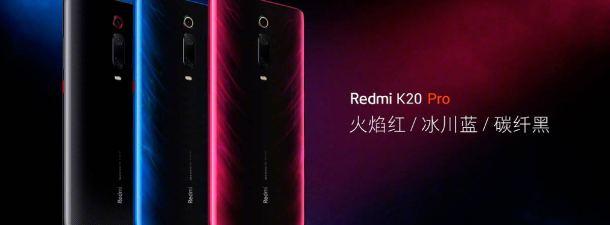 Redmi presenta sus terminales de gama alta: Redmi K20 y Redmi K20 Pro