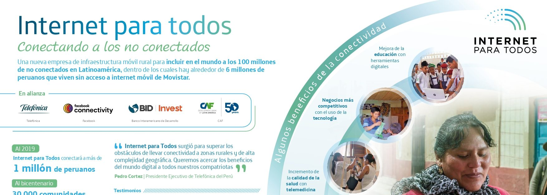 Internet Para Todos llega a Perú: ¿qué beneficios tiene la conectividad?