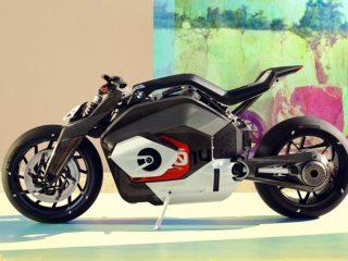 BMW Motorrad Vision DC Roadster Moto Eléctrica
