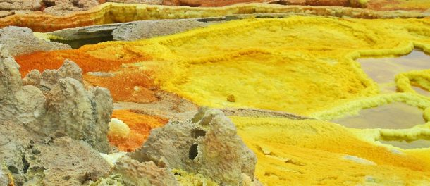 Microorganismos Etiopía Dallol Danakil