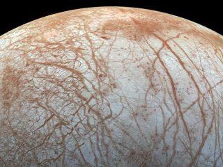 Jupiter Luna Europa Agua
