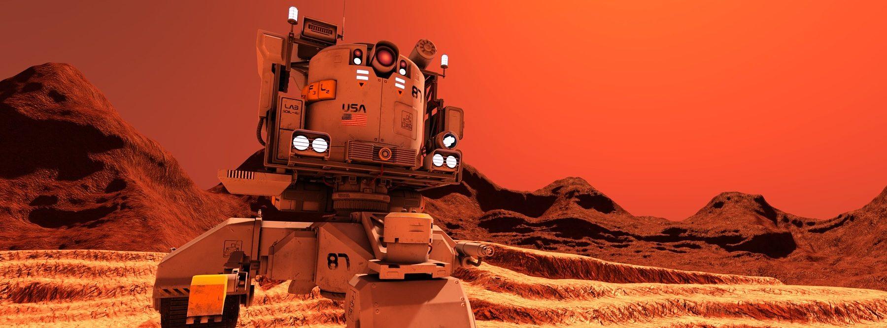 El Curiosity encuentra una gran concentración de metano en Marte