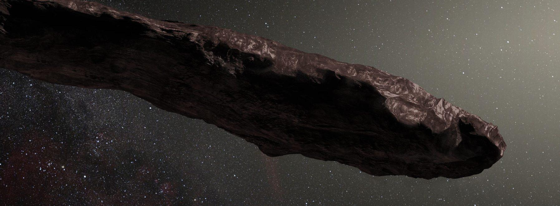 Oumuamua, un extraño caso dentro de los objetos estelares