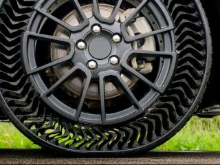 Uptis Michelin Neumáticos sin aire