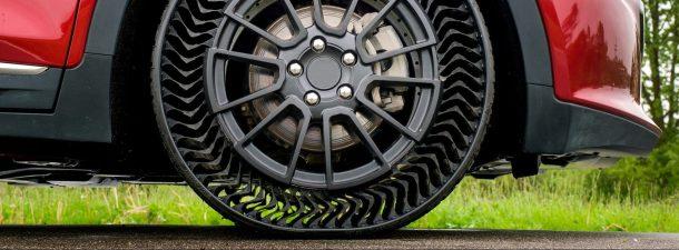 El futuro de la automoción está en los neumáticos sin aire