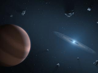 mapa de los exoplanetas