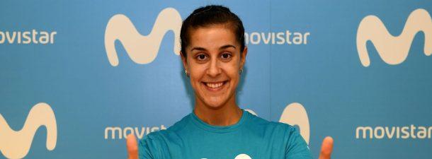 Telefónica se convierte en el nuevo partner tecnológico de Carolina Marín