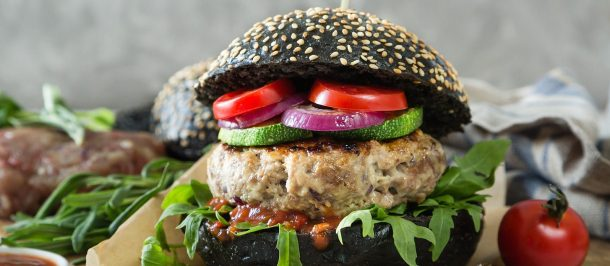 Carne vegetal Vegano Burguer