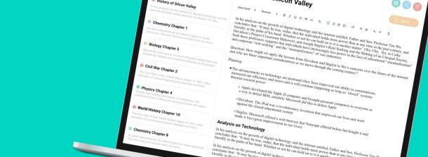 El bloc de notas que convierte tus textos en preguntas y respuestas