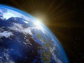 Superordenador Mapa mundo 3D Planeta Tierra, experimentos para comprobar que la Tierra no es plana