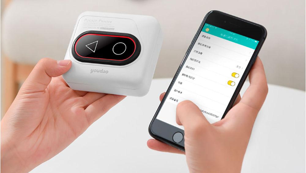 Xiaomi lanza una impresora que cabe en tu mano