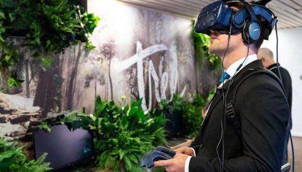 Guantes para realidad virtual