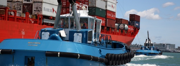 Nueva Zelanda usará barcos remolcadores eléctricos para sus puertos