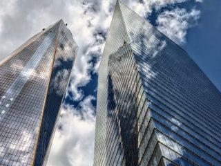 Rascacielos Cristal Medio Ambiente