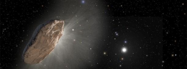 Un objeto interestelar se adentra en el Sistema Solar