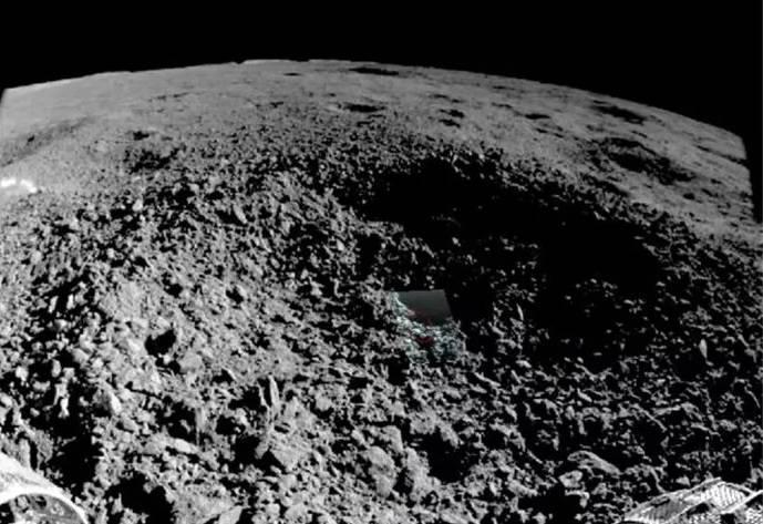 China detecta una sustancia misteriosa en la cara oculta de la Luna