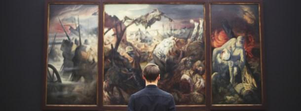 Un animador da vida en 3D a obras de arte clásicas