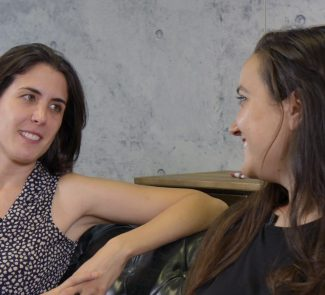 Irene Gómez Julia Llanos entrevista
