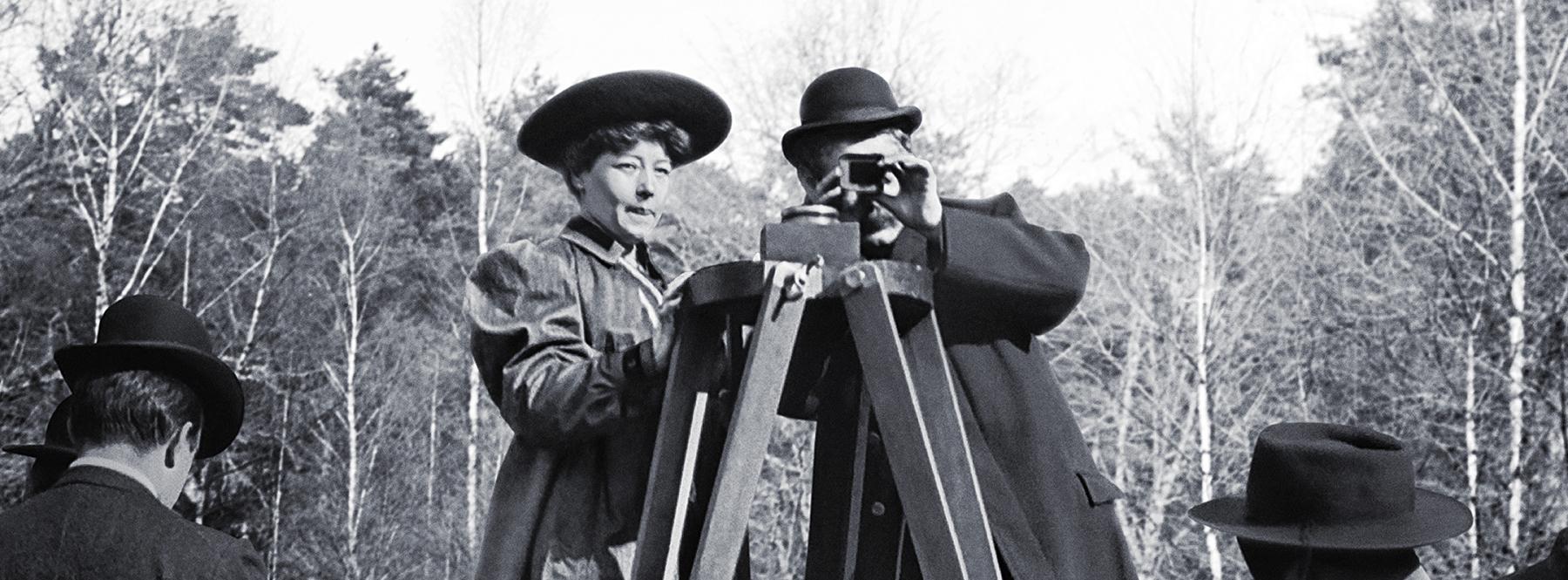 Las mujeres también estuvieron presentes en los inicios del cine