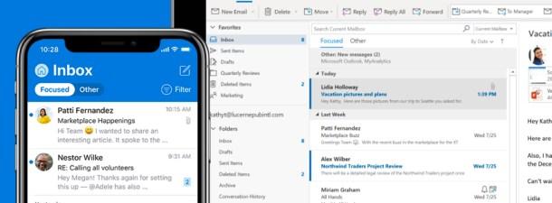 Tus correos se ordenan automáticamente con las reglas de Outlook