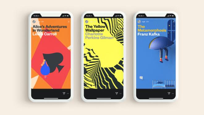 Leer clásicos a través de Instagram Stories ya es posible