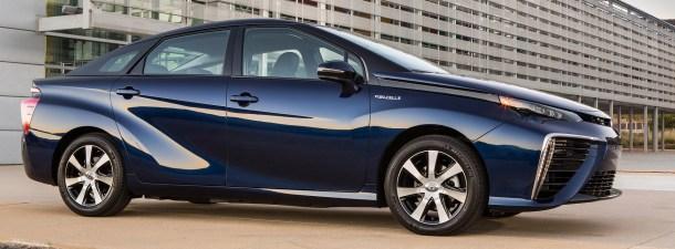 Ya está aquí la segunda generación de coches de hidrógeno de Toyota