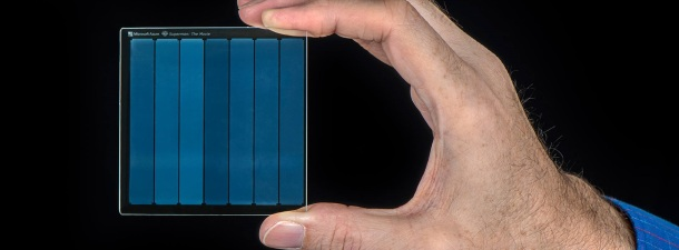 Microsoft almacena la película 'Superman' en un cristal de cuarzo