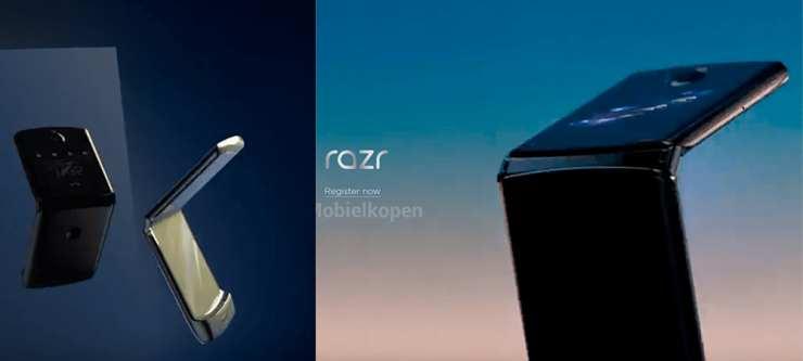 Motorola presentará en noviembre su primer smartphone plegable: Motorola Razr