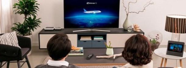 """Control de la televisión en directo en Movistar Home con la tarjeta """"estás viendo"""""""