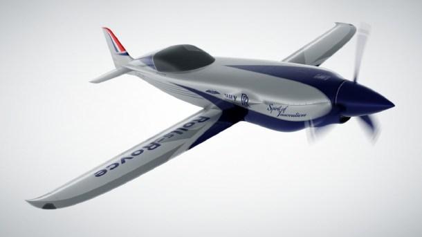 avión eléctrico de Rolls Royce