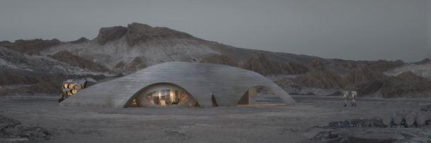 Casa, 3D, Marte