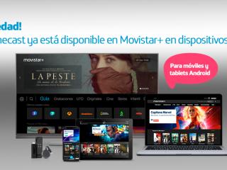 ver Movistar+ con Chromecast