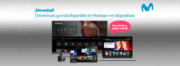 ¿Cómo ver series y películas de Movistar+ con Chromecast?