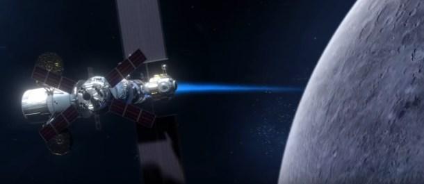 la nueva estacion espacial Gateway