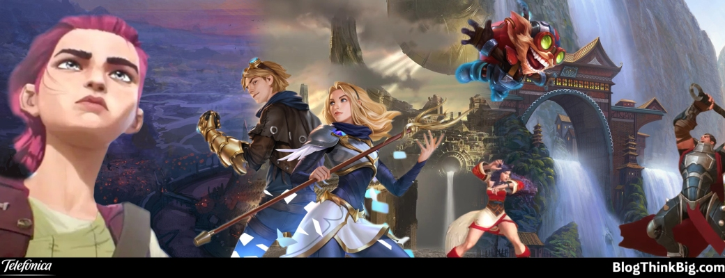 League of legends, videojuegos