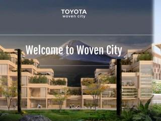 woven city la ciudad inteligente toyota