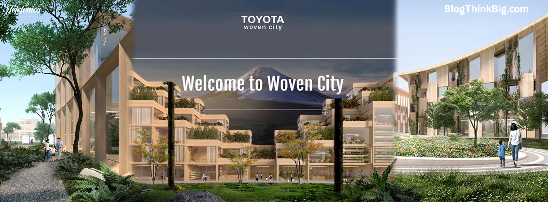 """Woven City, la """"ciudad inteligente"""" en Japón donde todo estará conectado"""