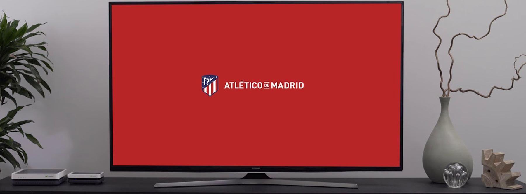 El Atlético de Madrid estrena contenidos exclusivos en su app de Movistar+