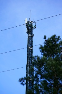 Torre de alta tensión
