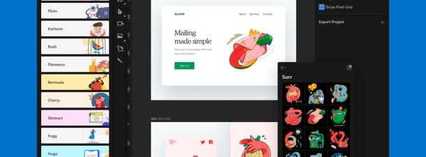 Lunacy quiere ser tu app de diseño gráfico favorita