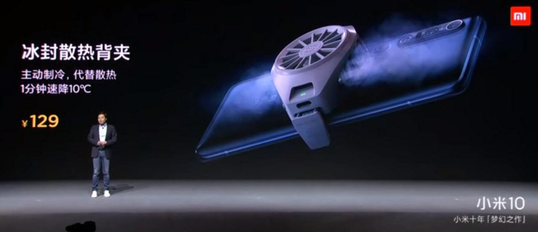 Xiaomi presenta un accesorio para evitar que se sobrecalienten nuestros móviles