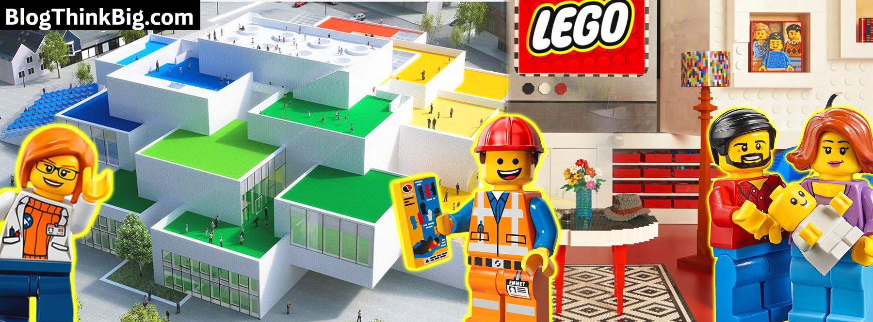 Cómo es la Casa Lego en Dinamarca