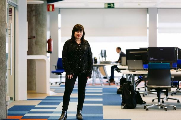 """Pilar Cantarero: """"Espero que, en breve, tengamos en Telefónica a las futuras #MujeresHacker que revolucionarán la tecnología"""""""