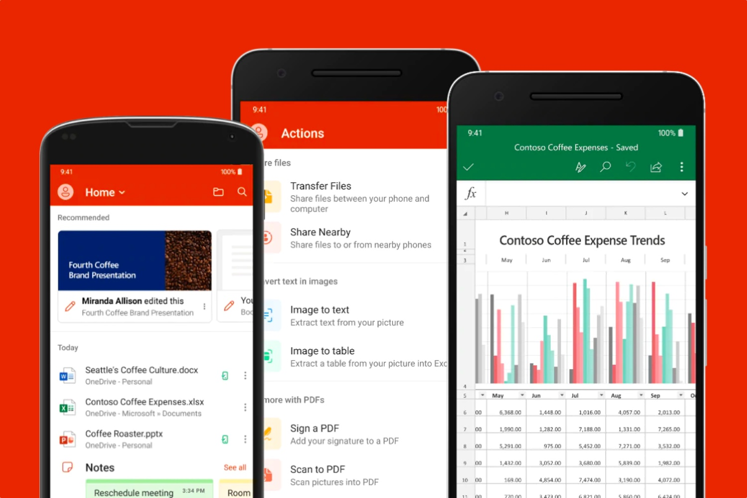Microsoft reunifica sus apps de Office para Android