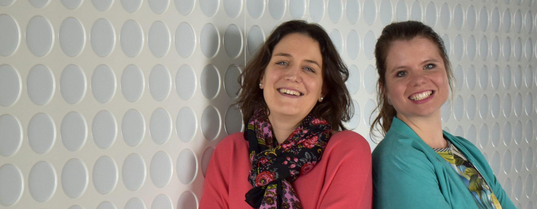 Laura y Verena: «Si te atreves a hacer algo nuevo, crecerás profesional y personalmente»