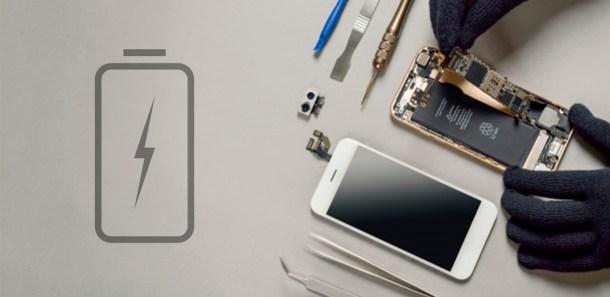 bateria movil arreglando servio tecnico telefono movil