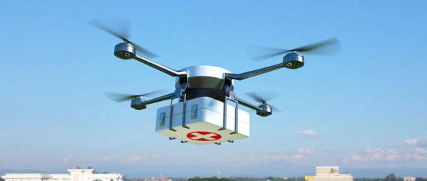 Drones médicos